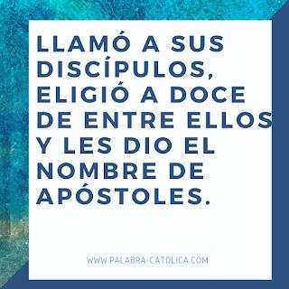 Evangelio del dia Miercoles 28 de Octubre - San Lucas 6, 12-19