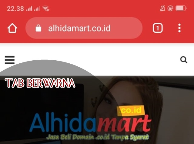Cara Mengubah Warna Website di Tab Browser