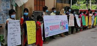 পিরোজপুরে উদ্দীপন শিশু ও যুব ক্লাবের উদ্যোগে আন্তর্জাতিক কন্যাশিশু দিবস পালিত