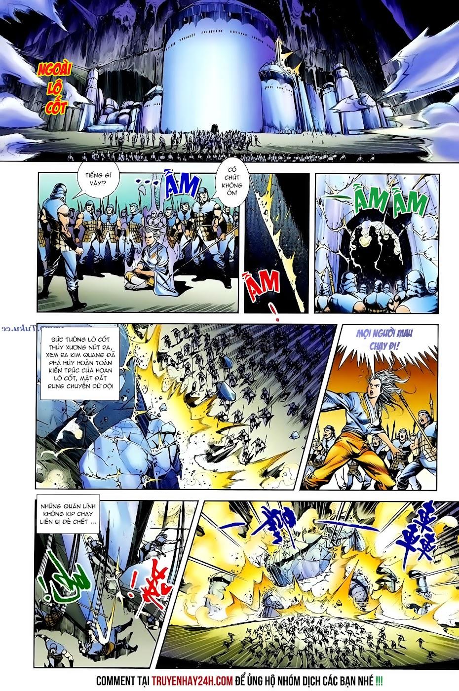 Cơ Phát Khai Chu Bản chapter 99 trang 9