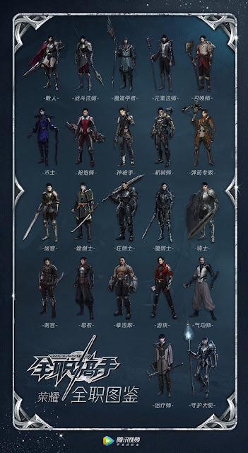 king's avatar gaming characters