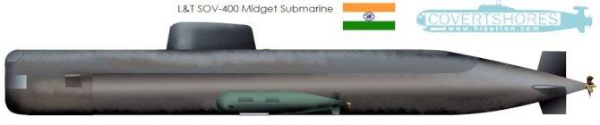 India's New Indigenous Special Operations Submarine Design: Larsen & Toubro SOV-400