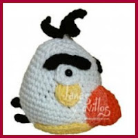 Angry Bird Blanco