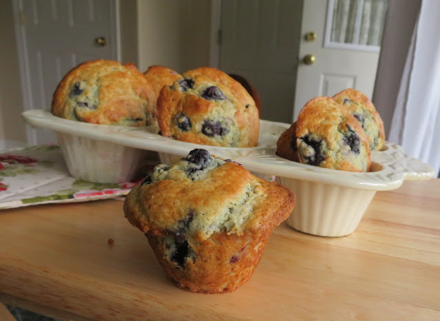 Mary Berry's Blueberry Muffins