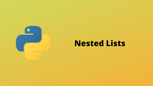HackerRank Nested Lists problem solution in Python
