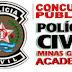 Saiu Edital para o concurso de Delegado da PCMG - 76 vagas - salário inicial de R$ 11.475,57