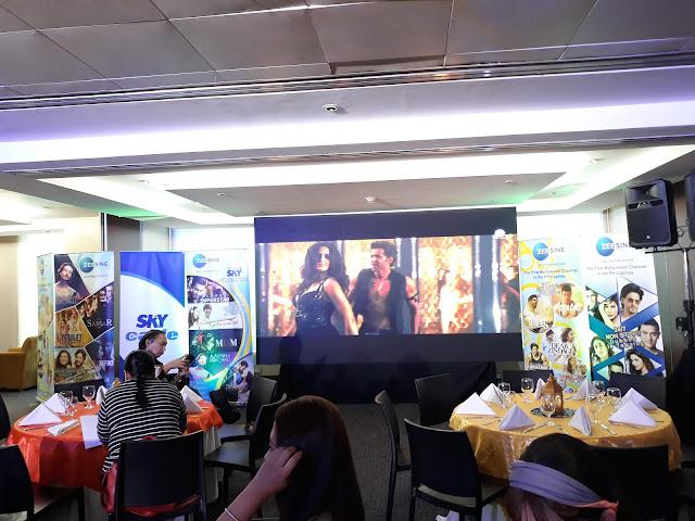 ZEE Sine media con held at 9501 Restaurant, Chronicle Room, Level B ELJCC ABS-CBN, Quezon City.