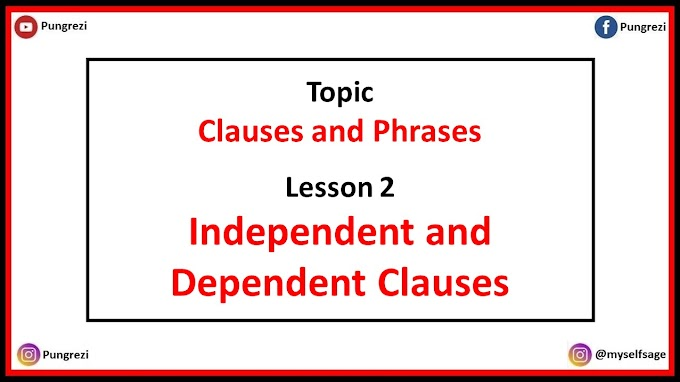 2. Independent and Dependent Clauses