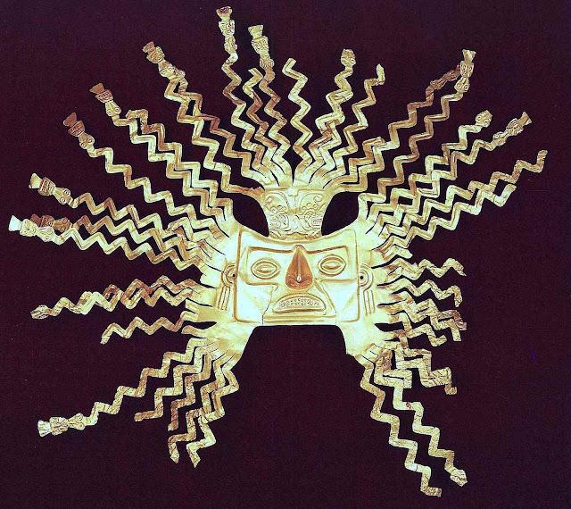 Inca gold, sun