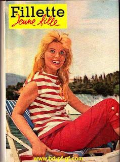 Recueil Fillette, Jeune fille, numéro 4, 1960