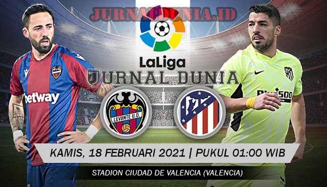 Prediksi Levante Vs Atletico Madrid