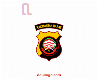 Logo Polda Kalbar Vector Format CDR, PNG