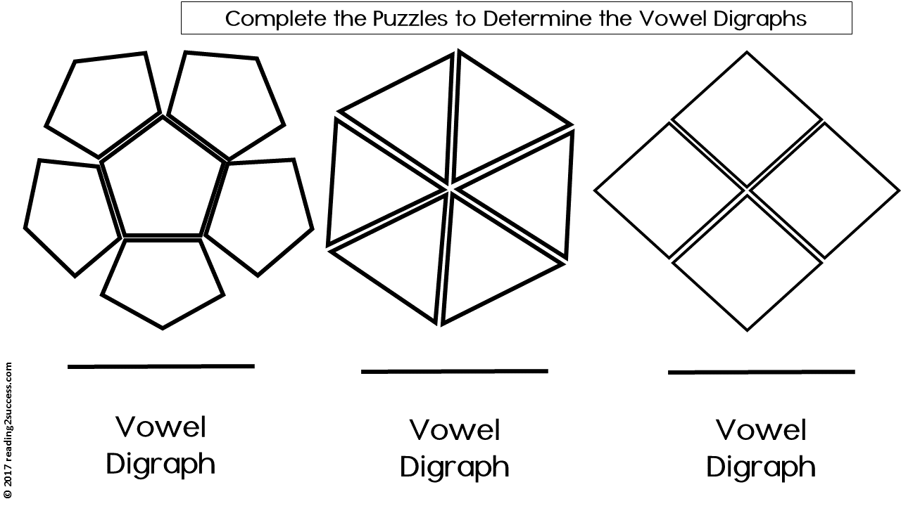 Workbooks long vowel digraphs worksheets : Reading2success