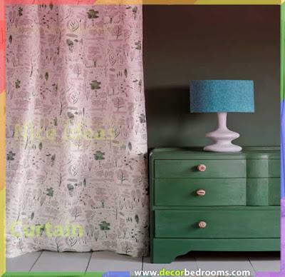 ستائر كلاسيكية لغرف النوم