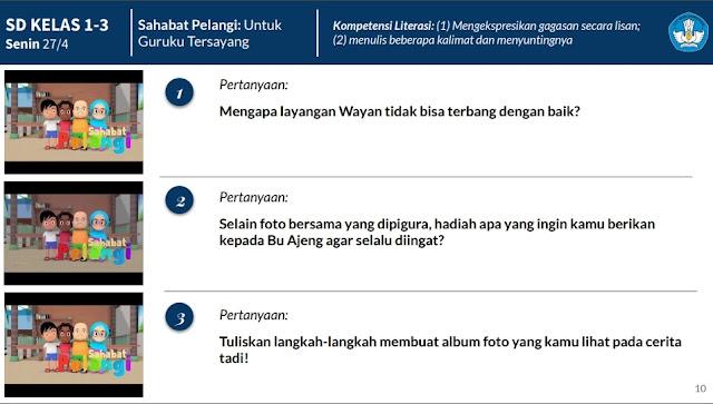 Daftar Soal Materi Belajar Dari Rumah TVRI Minggu ke Tiga Untuk SD, SMP, dan SMA/SMK