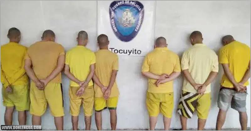 Capturados 7 de los 10 asesinos peligrosos fugados de Tocuyito