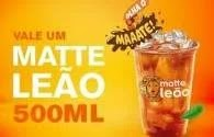 McDonald's Oferece Mate Leão 500ml Grátis - Saiba Como Garantir o Seu