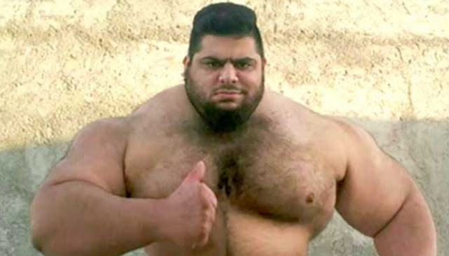 Pria Yang Dijuluki Hulk Dari Iran Jadi Perbincangan Di Jagat Dunia Maya