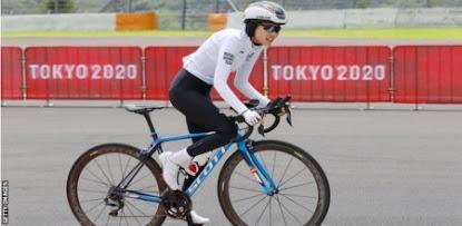 Juegos Olímpicos de Tokio: la ciclista Masomah Ali Zada es un símbolo de esperanza e inspiración