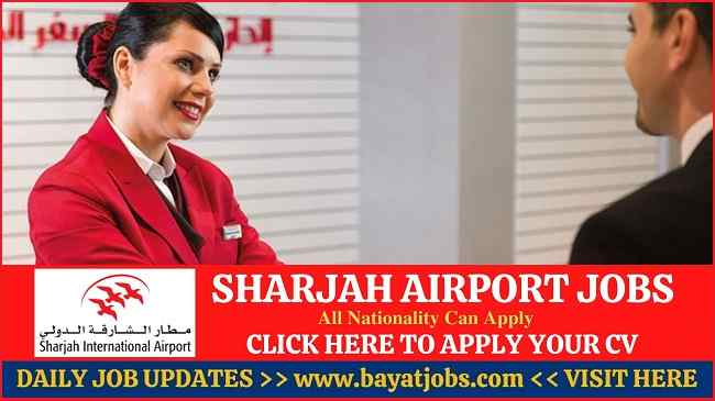 Sharjah Airport Jobs Latest Career Openings 2020