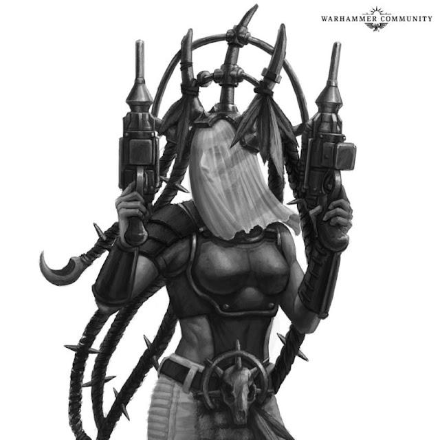 Necromunda Death Maidens