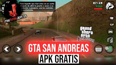 Descargar GTA San Andreas para Android 2019, GRATIS ESPAÑOL