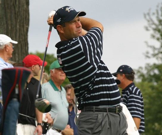 Stewart Cink was a Player of the Year Award winner on the Korn Ferry Tour
