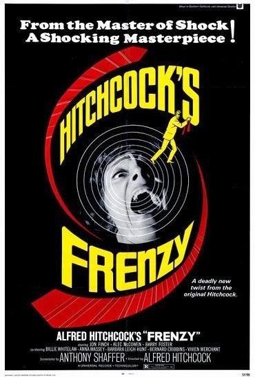 Η αφίσα για την ταινία Frenzy του Χίτσκοκ