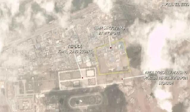 Gambar Satelit Ungkap Korut Tengah Buat Bangunan untuk Parade, Apakah Pemakaman Kim Jong-un?