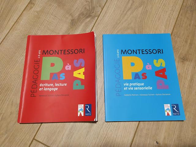 Pas à pas Montessori, mon avis sur ces ouvrages