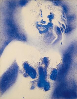 artistas bizarros, obras de arte macabras, obras de arte bizarras, arte macabra, arte contemporânea, arte escatológica, coisas assustadoras, antropometria yves klein