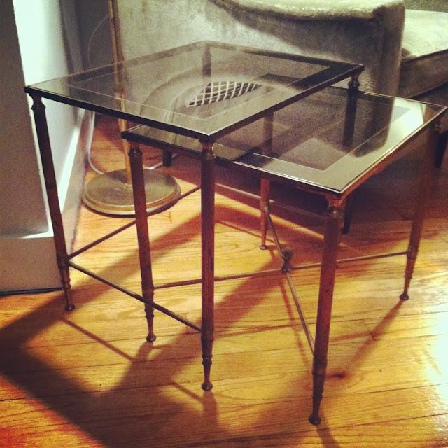 Marshall Fields Furniture: Houndstooth Vintage