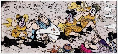 Ρωμαϊκά όργια από το Αστερίξ στους Ελβετούς / Roman orgies in Asterix in Switzerland