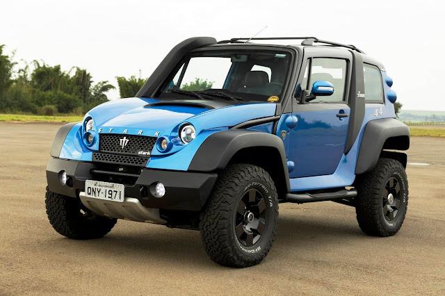 CAB Motors fabricará SUV Stark Mountain no DF em 2021