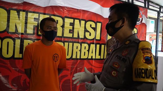 Polisi Ringkus Pengedar Sekaligus Pemakai Obat Terlarang di Padamara