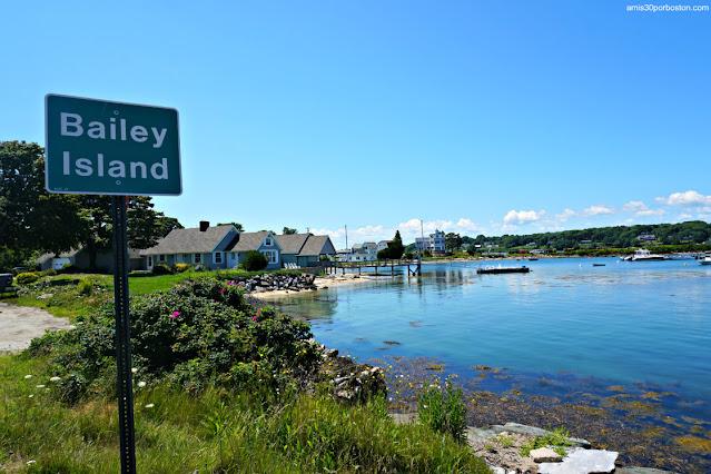 Isla Bailey en Harpswell, Maine