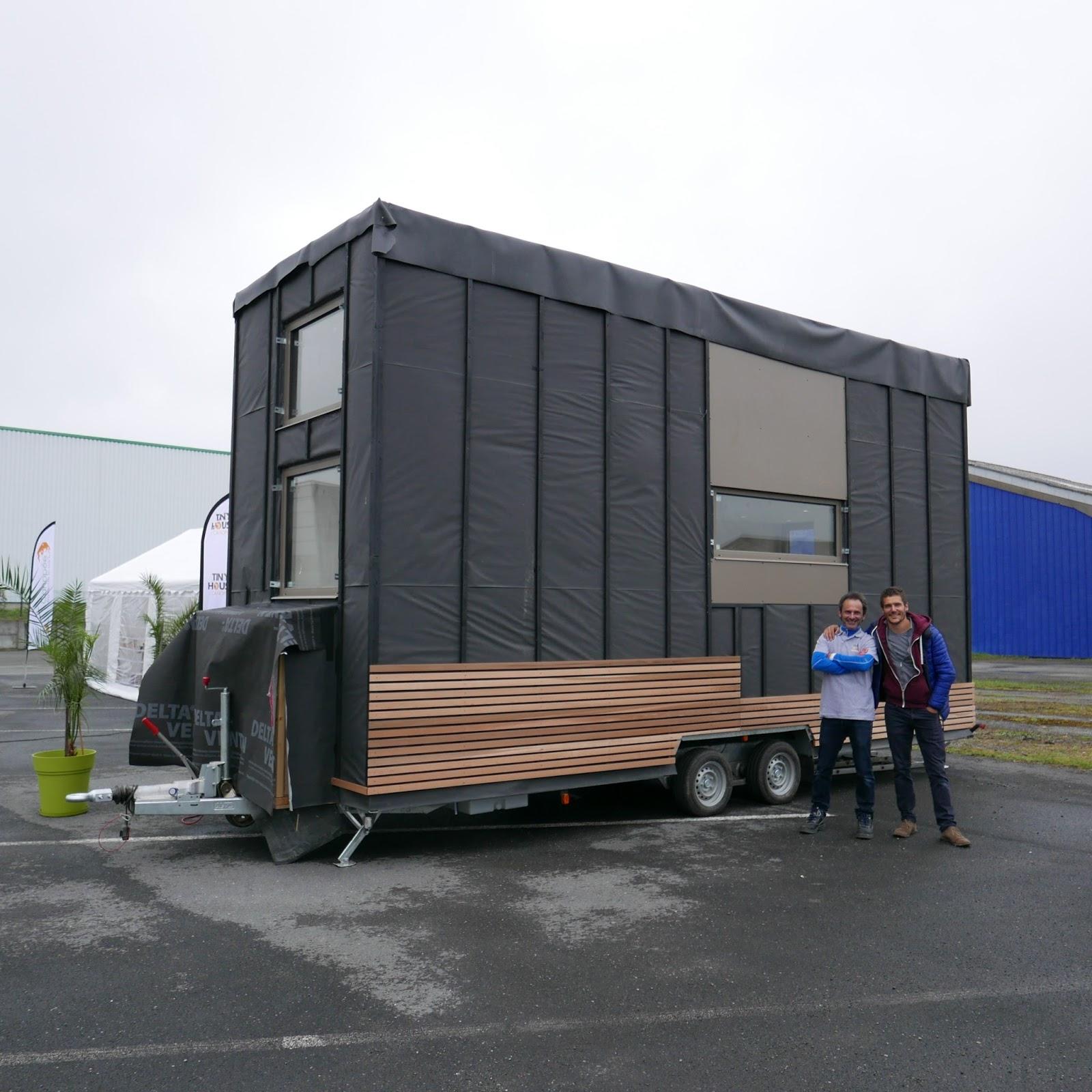 Deule Insolite Canopee Tiny House En Cours De Finition Pres De Lille