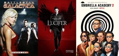 Séries vues - BSG - Lucifer - Umbrella Academy