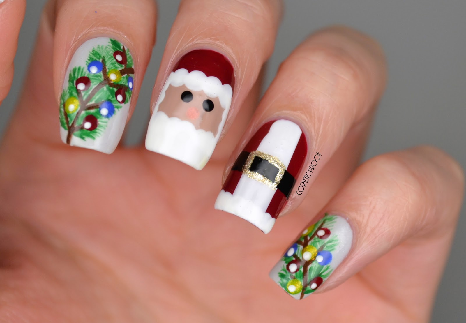 Nails Santa Finally Makes An Appearance Cosmetic Proof