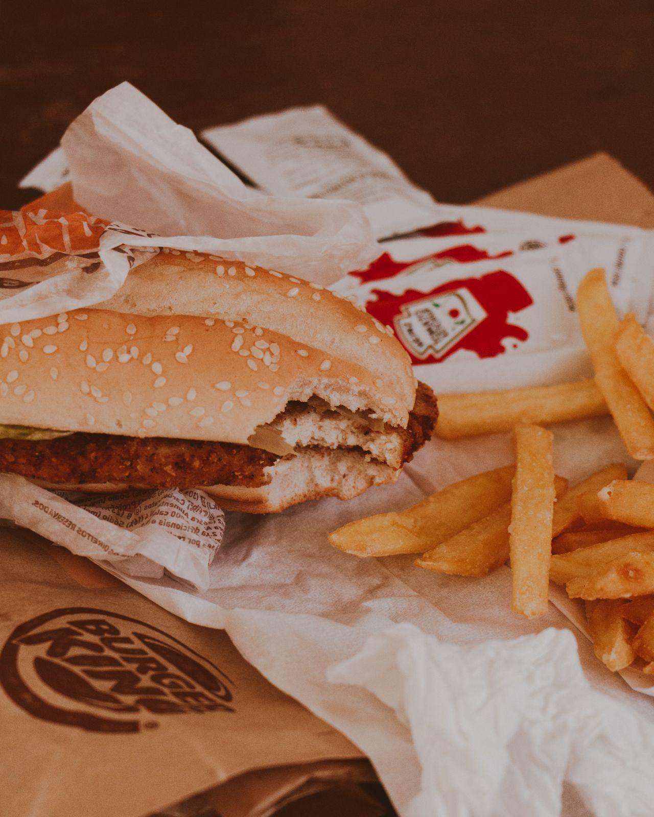 SNAPSHOTS #1 lanche burger king