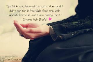 Do'a Imam Ash Shafiee