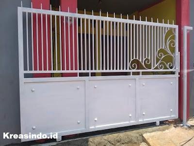 Harga Pintu Pagar Minimalis Besi, Pintu Pagar Semi Tempa, dan Pagar Gudang Model Terbaru