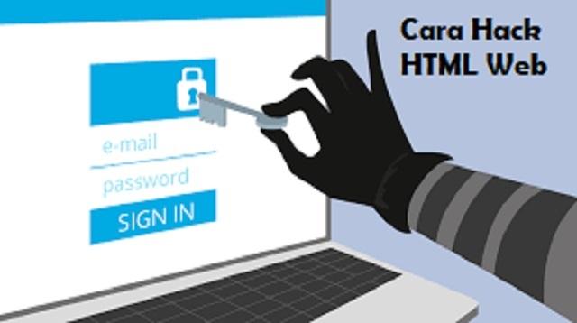 Cara Hack HTML Web