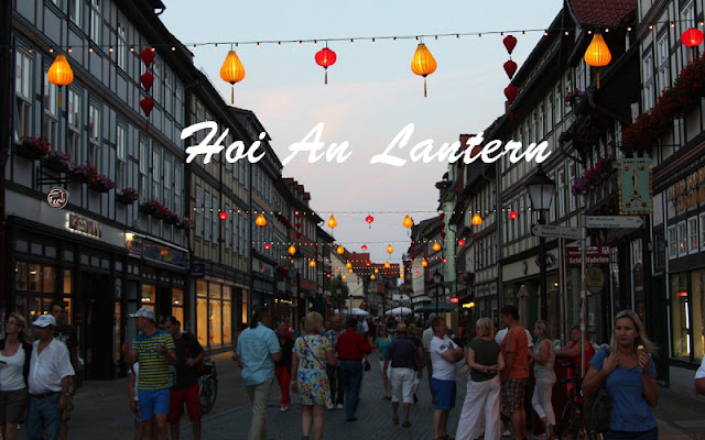 Hoi An Lantern Will Shine In Wernigerode City - Germany