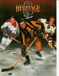 1992-93 NHL Heritage collection catalogue - 1
