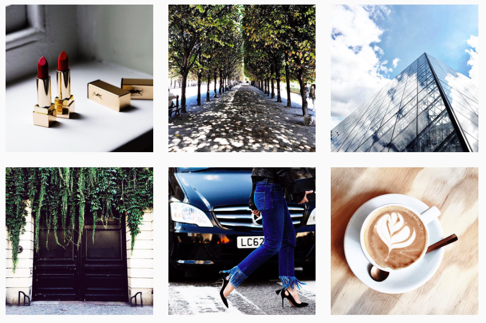 famous fashion bloggers how to grow instagram feed
