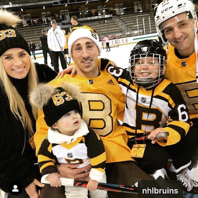 Brad Marchand With Kids
