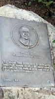 The Rose garden founder - Elizabeth Park, West Hartford, CT
