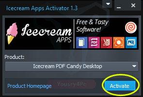 تحميل Icecream PDF Candy  لتحويل ملف PDF الى Word