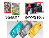 Logo Concorso Vita da Comix 2021: vinci gratis videogames e console Nintendo